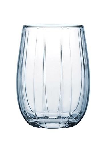 Paşabahçe 420302 6 Lı Linka Bardak Su Bardağı - Meşrubat Bardağı Mavi Mavi